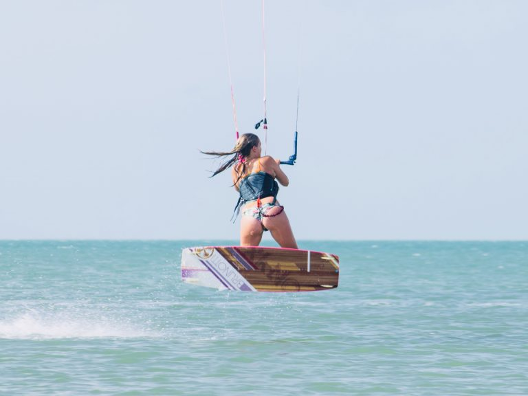Kitesurfles kitesurflessen aanbieding korting Zandvoort Moana