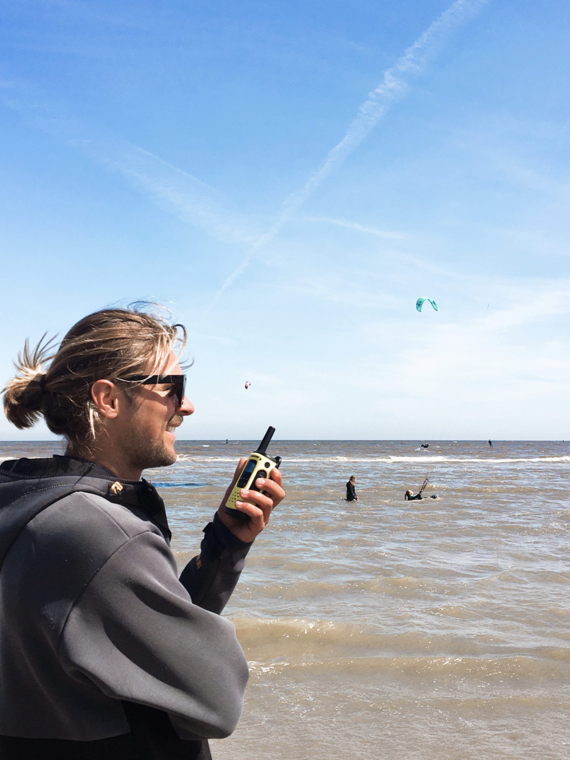 kitesurf cursus bij moana in zandvoort